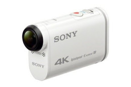 Sony Action Cam 4K FDR-X1000VR i Action Cam Full HD HDR-AS200VR - sport w jakości 4K