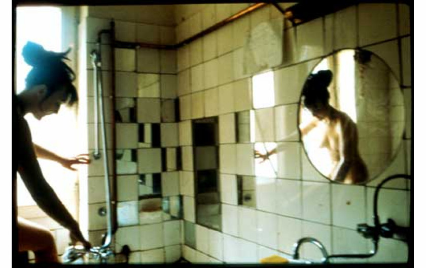 Kathe in the tub West Berlin. 1984, 72.00 x 04.00 x 4.50 cm. Mathew Marks Gallery, fot. Nan Goldin