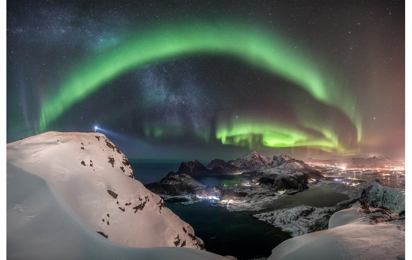 fot. Nicolai Brügger, The Watcher 1. miejsce w kategorii Aurorae / Insight Investment Astronomy Photographer of the Year 2019