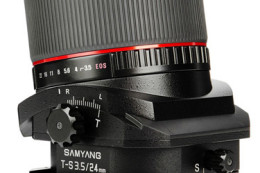 Samyang T-S 24mm f/3.5 ED AS UMC