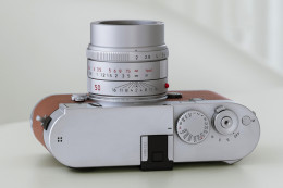 Leica APO-SUMMICRON-M 50 mm f/2 ASPH. - srebrna odsłona standardu do systemu M