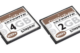 Kingston CompactFlash Ultimate - 2 GB i 4 GB 100x