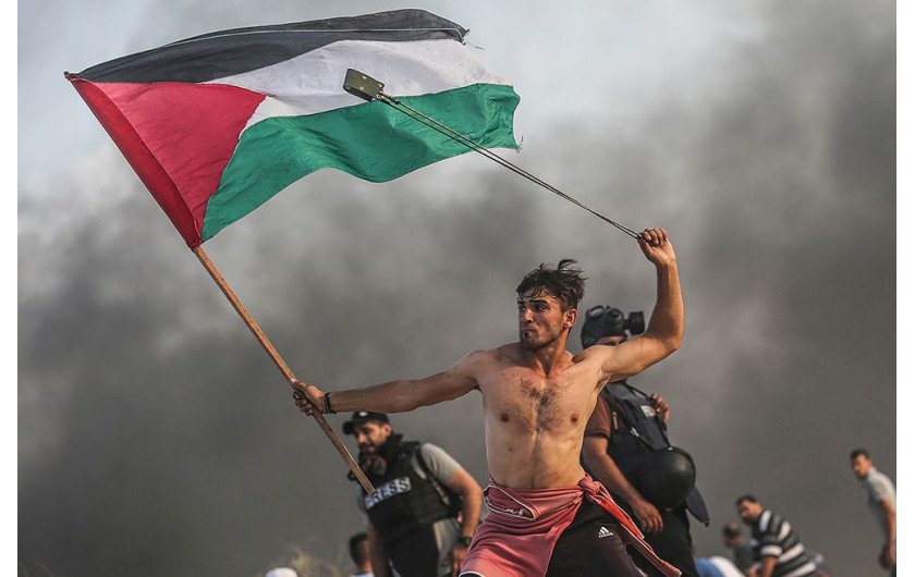 fot. Mustafa Hassona, Palestinian rights of return protests, Editorial / Press Photographer Of the Year, Professional