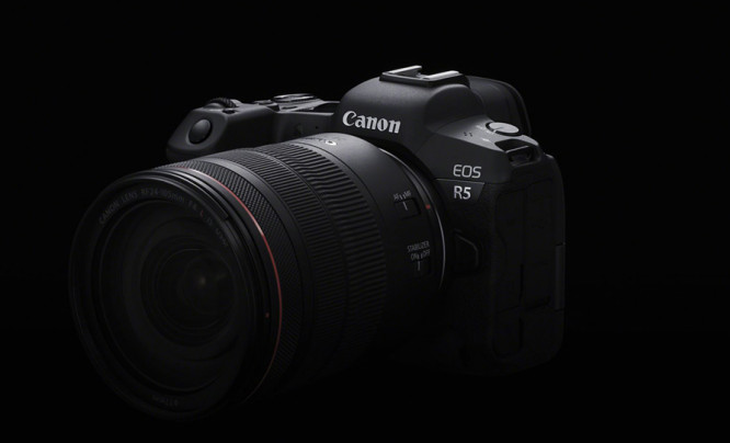Canon EOS R5 - producent ucina spekulacje