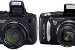 Canon PowerShot SX20 IS i SX120 IS