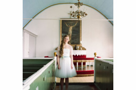 "fot. Silvia Varela, ""Ronja on the Day of Her Confirmation Ceremony