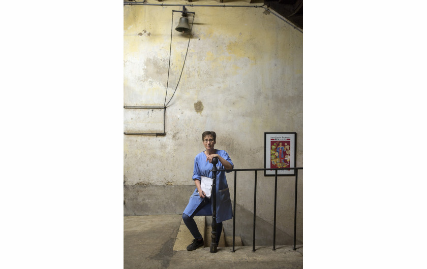 fot. Thierry Gaudillere, Worker at Maison Champy, 1. miejsce w kategorii Errazuriz Wine Photographer of the Year - People