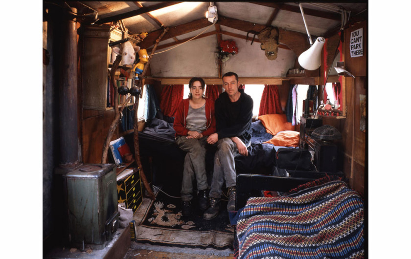 Travellers Series. 1996-1998 (c) Tom Hunter