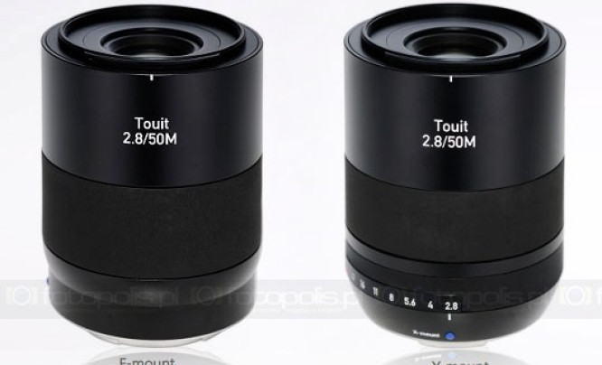 Zeiss Touit 50 mm f/2,8 Macro
