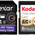 Lexar Full-HD Video i Kodak SDHC Video - garść nowych kart