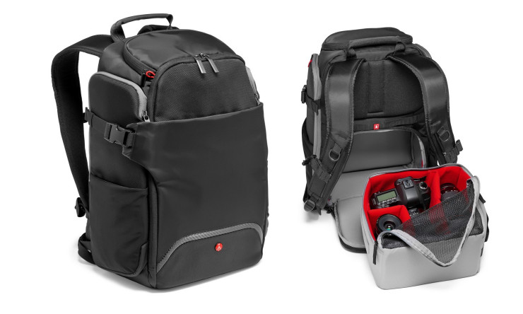 Manfrotto Advanced Rear Backpack - do pracy, w podróży i na co dzień