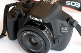 Canon EOS 1200D - hands on