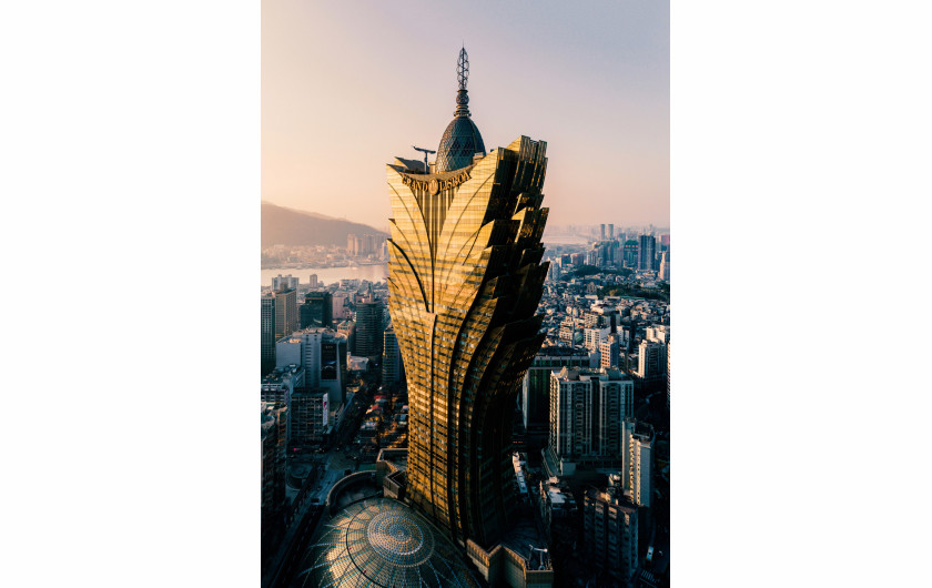 fot. 吖震, 3. miejsce w kategorii Architecture, SkyPixel Aerial Photo & Video Contest 2018
