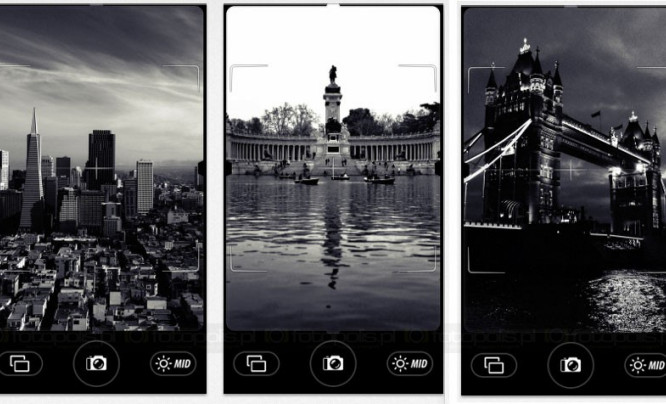 Camera Noir - czerń i biel z iPhone'a