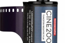 Lomography Cine200 Tungsten Film