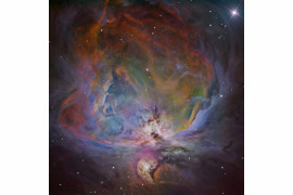 "fot. Bernand Miller, ""The Orion Nebula in 6-filter Narrowband"" / Insight Investment Astronomy Photographer of the Year 2018"