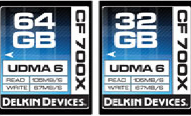 Delkin 700X Compact Flash