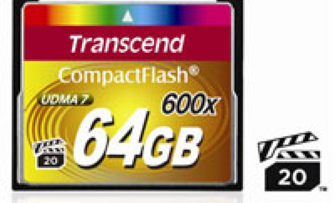 Transcend 600x Compact Flash 64 GB