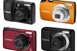 Canon PowerShot A800, A1200, A2200, A3200 IS oraz A3300 IS