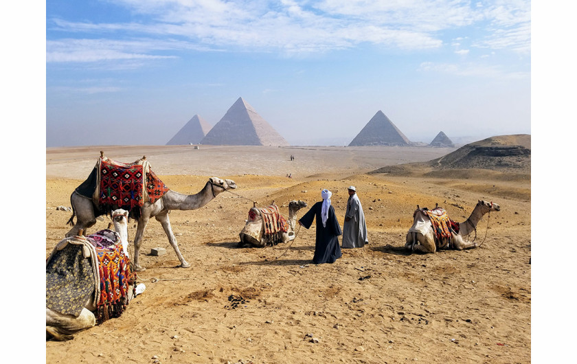 fot. Luis Figueroa, Giza Pyramids, 1. miejsce w kategorii Travel & Adventure / Mobile Photography Awards 2018