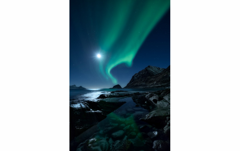 fot. Mikkel Beiter, Aurorascape, 3. miejsce w kategorii Aurorae / Insight Astronomy Photographer of the Year 2018