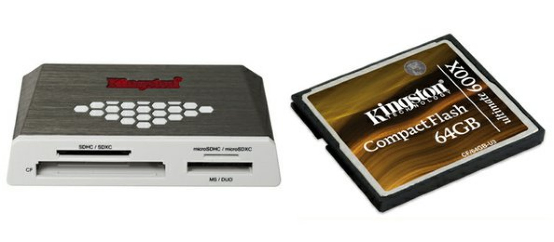 Kingston Usb 3 0 High Speed Media Reader I Karta Cf Ultimate 600x 64 Gb
