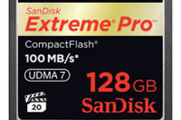 SanDisk Extreme Pro CompactFlash 128GB