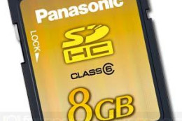 Karta Panasonic Pro High Speed SD 8 GB