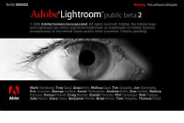 Adobe Lightroom - wersja beta 2