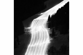 "fot. Oliver Kussinger, ""Snow Groomer"", 1. miejsce w kategorii Abstract"