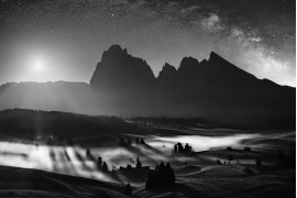 "fot. Isabella Tabacchi, ""The magic of the night"", 1. miejsce w kategorii Landscapes"