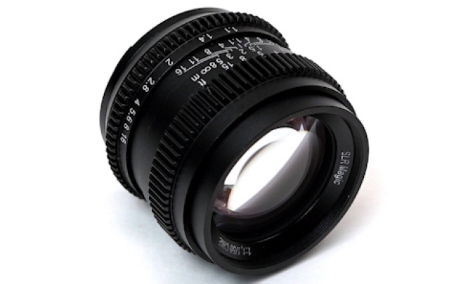 SLR Magic Cine 50 mm f/1.1 - superjasny standard do Sony E