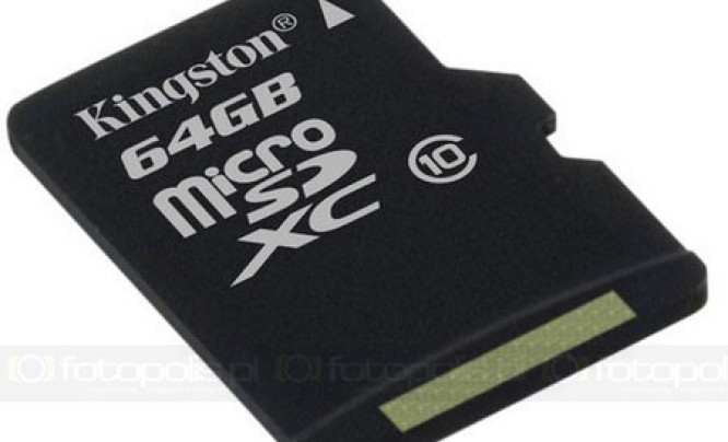 Kingston microSDXC 64 GB Class 10