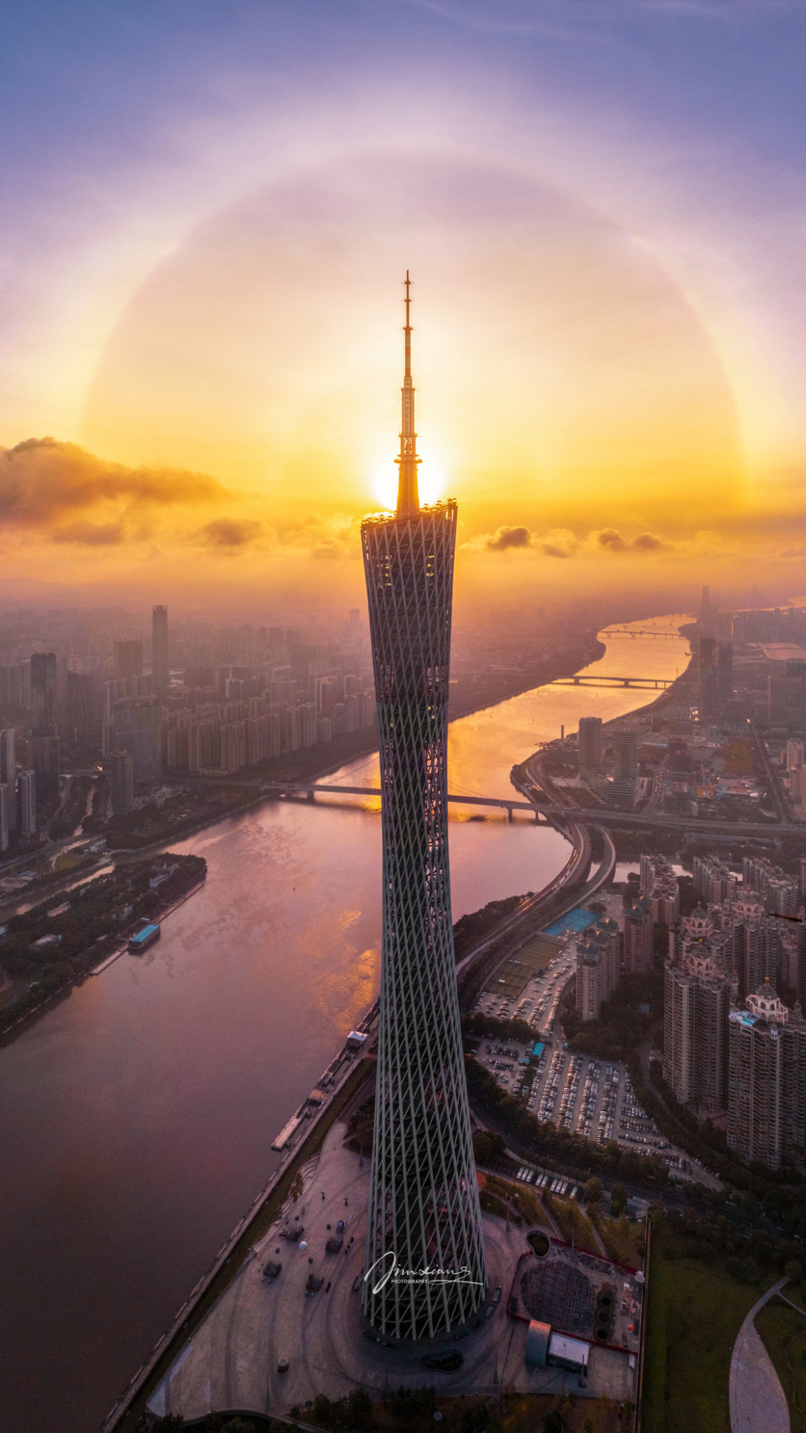 fot. Jim Xiang, 1. nagroda w konkursie Skypixel Aerial Photo & Video Contest 2019