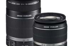 Canon EF-S 18-55mm f/3.5-5.6 IS i EF-S 55-250mm f/4-5.6 IS - nowa stabilizacja