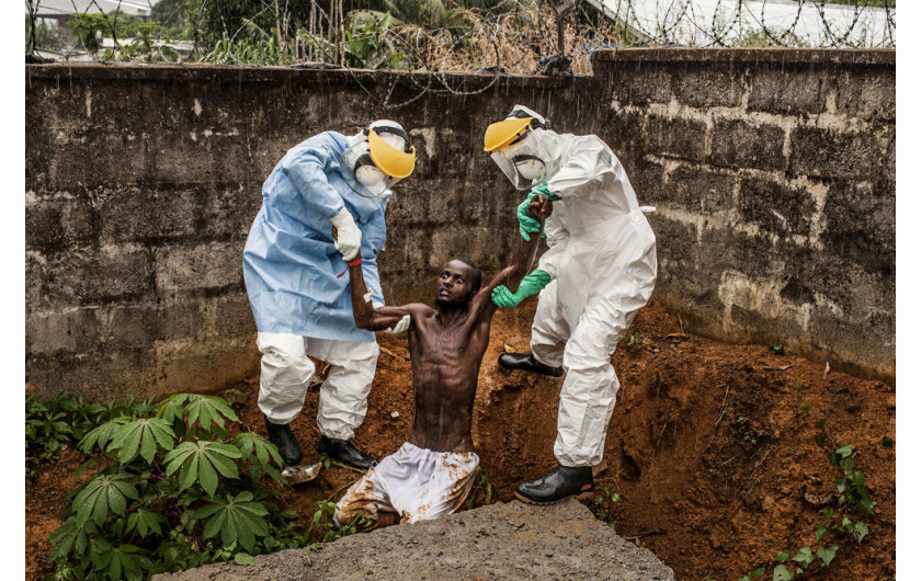 Wirusowy powstaniec: Ebola w Sierra Leone. Fot. Pete Muller, USA, Prime dla National Geographic / The Washington Post