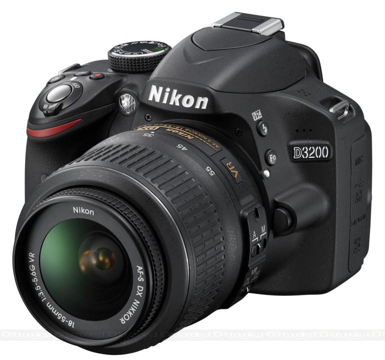 Nikon D3200 24 Megapiksele Dla Amatorów