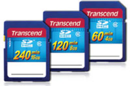 Transcend SDHC HD Video