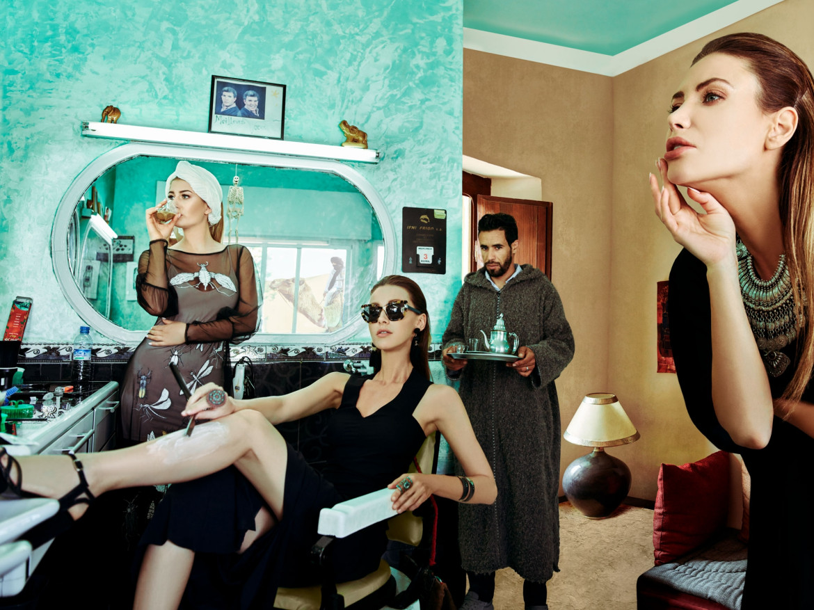 "fot. Grzegorz Sikorski, z cyklu ""Stories Scheherazade Certified"", srebro w profesjonalnej kategorii Advertising / Fashion 