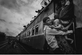 "fot. MD Tanveer Hassan Rohan, ""Challenging journey"", 3. miejsce w kategorii People konkursu National Geographic Travel Photographer of the Year 2018"