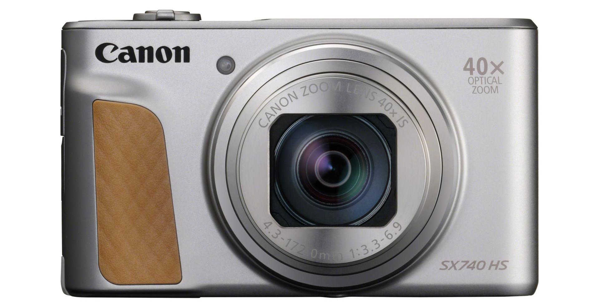 Canon Powershot Sx740 Hs 40x Zoom I Nagrywanie W 4k