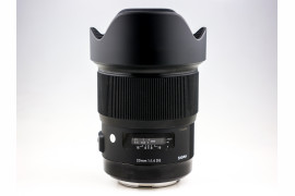 Sigma 20 mm f/1.4 DG HSM ART