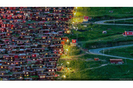 "Junhui Fang, ""FOLLOW THE LIGHT"" - nagroda publiczności w kategorii ""Cities"" 