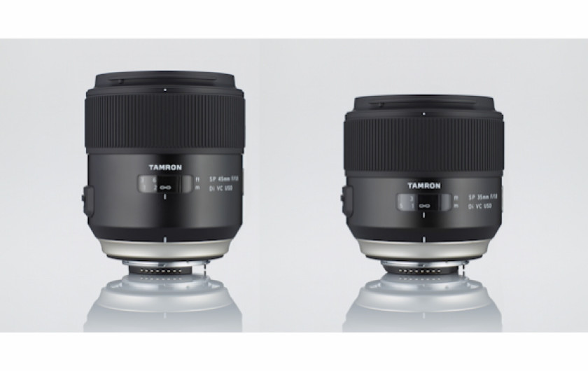 Tamron SP 35 mm f/1.8 Di VC USD i SP 45 mm f/1.8 Di VC USD