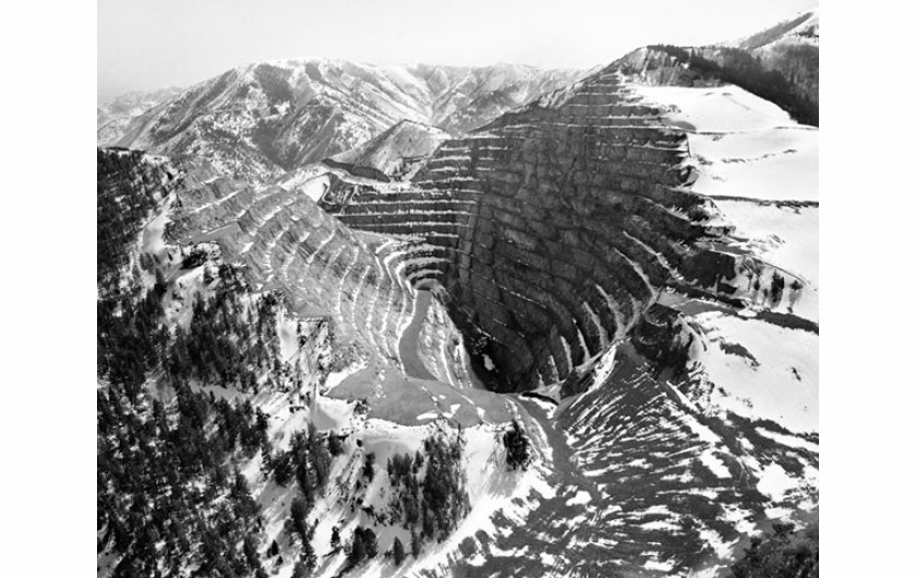 (c) Michael Light, Barney's Canyon Gold Mine, Near Bingham Canyon, Looking South