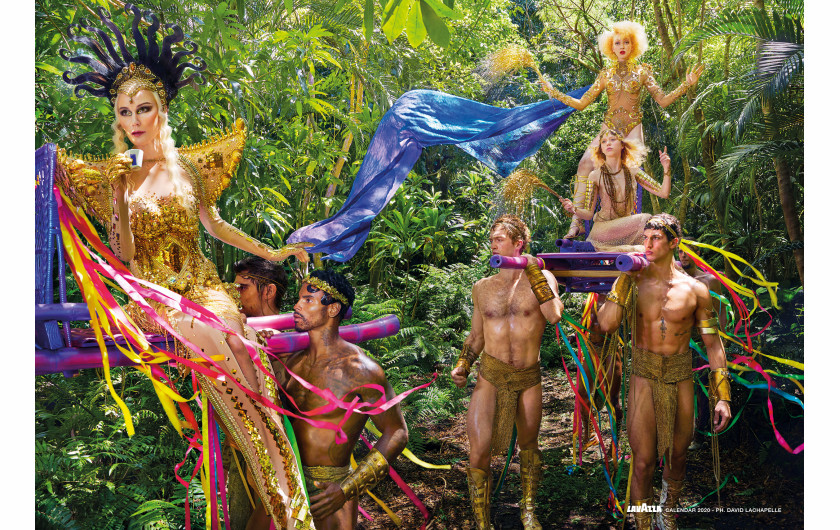 fot. David LaChapelle, Celebrate / Kalendarz Lavazza 2020