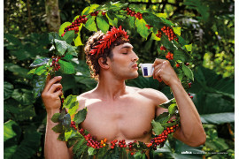 "fot. David LaChapelle, ""Sustain"" / Kalendarz Lavazza 2020"