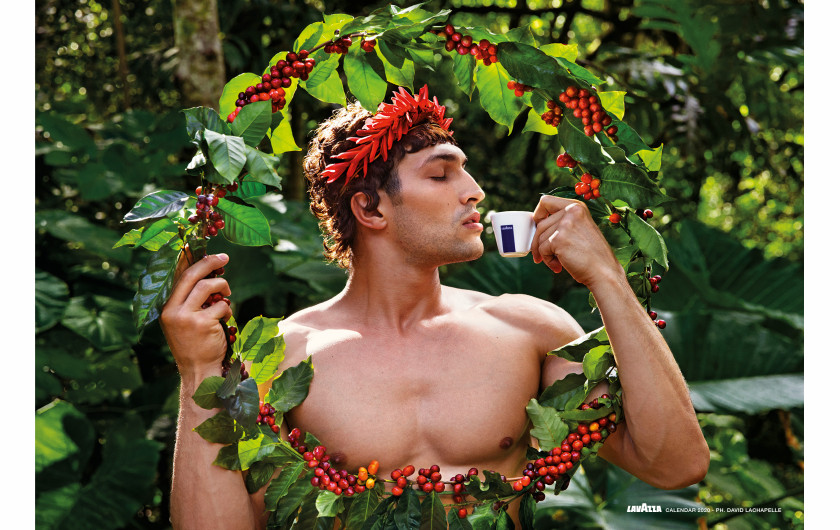 fot. David LaChapelle, Sustain / Kalendarz Lavazza 2020