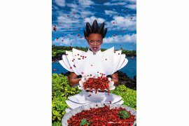 "fot. David LaChapelle, ""Nourish"" / Kalendarz Lavazza 2020"