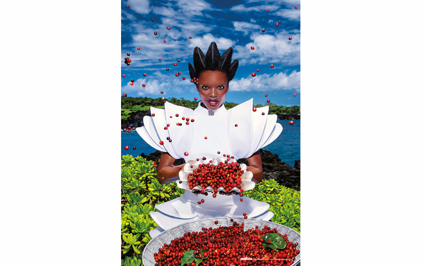 fot. David LaChapelle, Nourish / Kalendarz Lavazza 2020